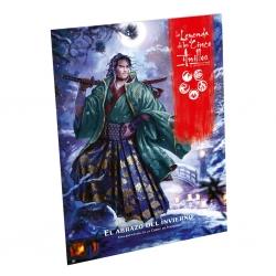 El abrazo del invierno suplemento para el juego de rol de La Leyenda de los Cinco Anillos de Fantasy Flight Games