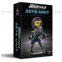 TAGs are coming to Infinity CodeOne! Zeta Unit O-12 Infinity by Corvus Belli 282008-0846