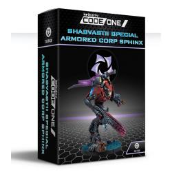 Shasvastii Special Armored Corp Sphinx (TAG) Ejército Combinado CodeOne Infinity de Corvus Belli 281606-0847