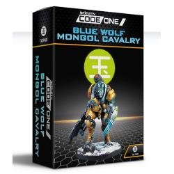 Yu Jing Blue Wolf Mongol Cavalry (TAG) CodeOne Infinity de Corvus Belli 281317-0848