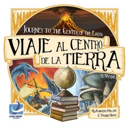 Board game Journey to the Center of the Earth from Looping Games