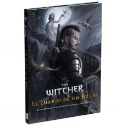 Diario de un brujo del juego de rol The Witcher de Holocubierta