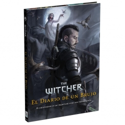 Diary of a sorcerer from the role-playing game The Witcher from Holocubierta