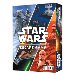 Juego de cartas cooperativo Unlock! Star Wars Escape Game de Space Cowboys
