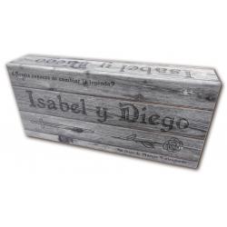 Card game Isabel and Diego Los Amantes de Teruel de Zombies y Princesas