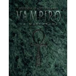 Juego de Rol Vampiro la Mascarada 20º Aniversario de Nosolorol Ediciones 9788494285127