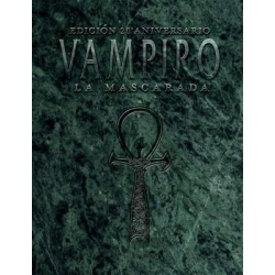 Vampire the Masquerade Role Playing Game Nosolorol Editions 20th Anniversary 9788494466892