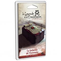La Leyenda De Los Cinco Anillos Lcg La tentación del Escorpión Pack de dinastía de Fantasy Flight Games