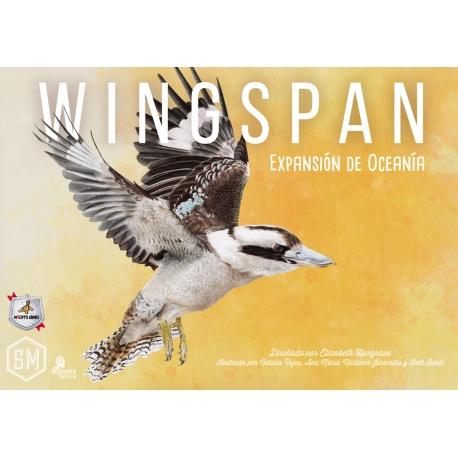 Expansión Oceanía juego de mesa competitivo Wingspan de Maldito Games
