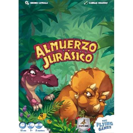 Table game Jurassic Lunch from brand Maldito Games