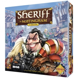 The Sheriff of Nottingham 2nd Edition board game from Edge Entertainment