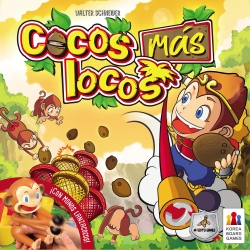 Children's board game Cocos Más Locos by Maldito Games brand