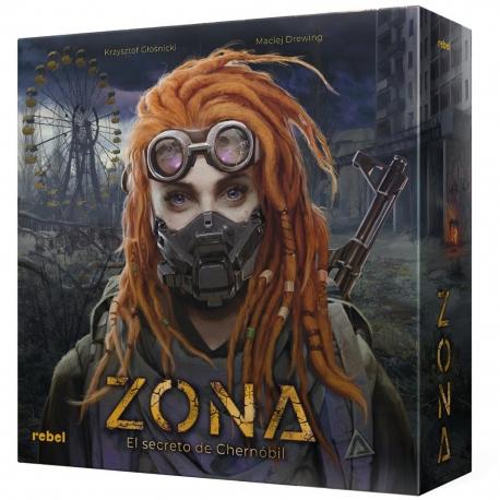 Board game Zone: The Secret of Chernobyl from Rebel
