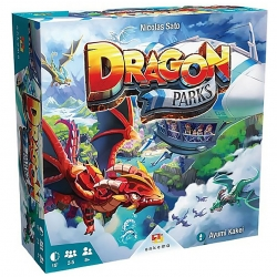 Juego de mesa de carreras Dragon Parks de Ankama