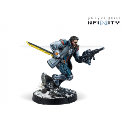 John Hawkwood, Merc Officer (K1 Marksman Rifle) NA2 Infinity from Corvus Belli reference 280750-0858