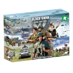 Strategy board game Black Swan Europe 1939-1945 by Ventonuovo