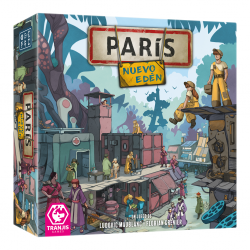 Board game Paris New Eden from Tranjis Games