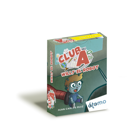 Club A Willy the Robot card game from Átomo Games