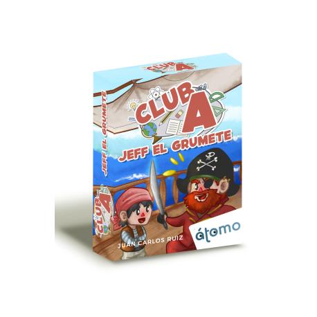 Juego de cartas Club A Jeff el Grumete de Átomo Games