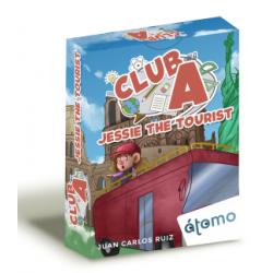 juego de cartas Club A Jessie the tourist de Átomo Games