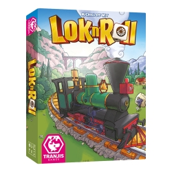 Lok'n'Roll is a family game, very light and easy to learn to play, with a careful design inside and out
