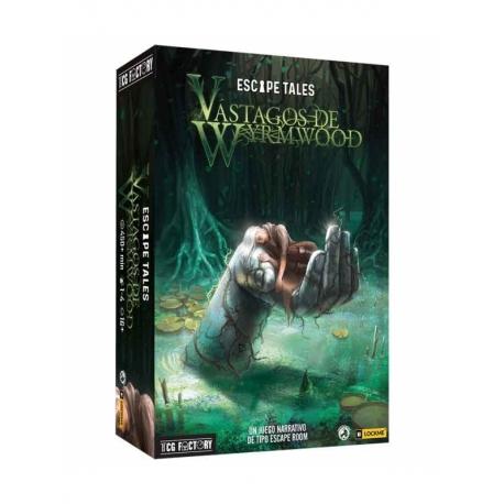 Juego de mesa Escape Tales Vástagos de Wyrmwood de TCG Factory