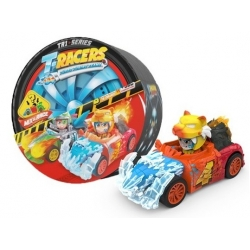 The T-racers are Magic Box's new collection of detachable racing drivers and cars (SuperThings, Mojipops, Zoomlings)