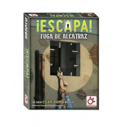 Juego de mesa de Escape Room ¡Escapa! La Fuga de Alcatraz de Mercurio Distribuciones