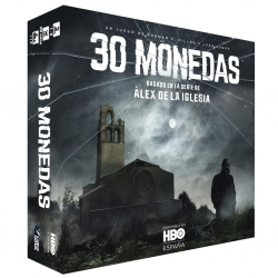 Juego de mesa 30 monedas basado en la seria de Álex de la Iglesia y creado por Ludonova