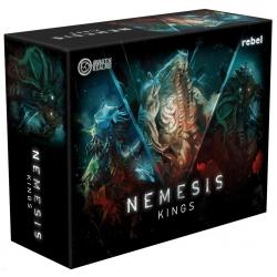 Alien Kings expansión del juego de mesa Némesis de Edge Entertainment