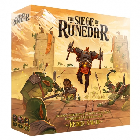 Cooperative Board Game The Siege of Runedar by Ludonova