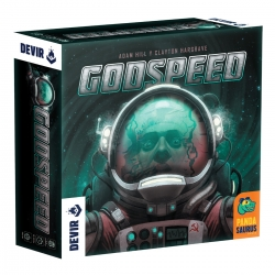 Godspeed strategy board game from Devir