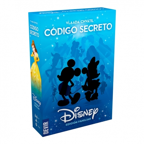 Family card game Disney Secret Code from Devir