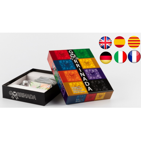 Gorrinada board game Spanish edition