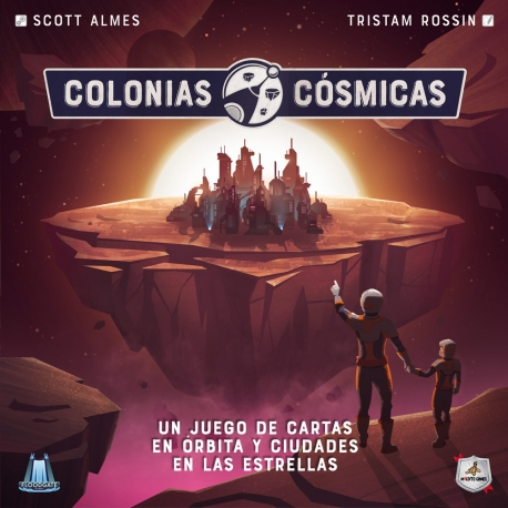 Card game Cosmic Colonies from Maldito Games