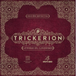 Board game Trickerion: Legends of Illusionism from Maldito Games