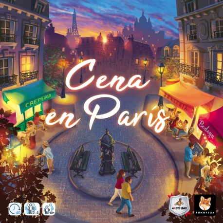 Board game Dinner in Paris from Maldito Games