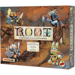 Los Cachivaches Expansionn for board game Root in Spanish from 2Tomatoes Games