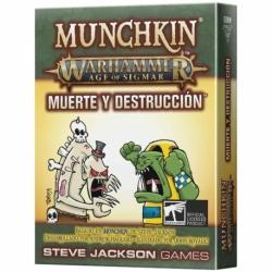 Munchkin Age Of Sigmar - Muerte Y Destrucción