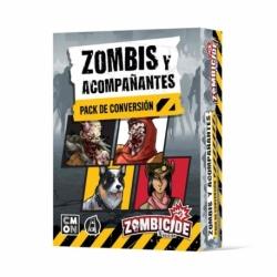 Zombicide - Segunda Edición - Zombis Y Acompañantes - Pack De Conversión