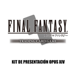 CARD GAME FINAL FANTASY TCG OPUS XIV PRE-RELEASE KIT FROM SQUARE ENIX