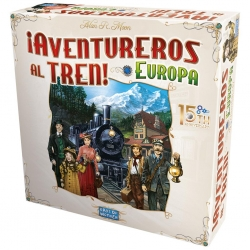 Board game Ticket to Ride! Europe 15th Anniversary of Days of Wonder