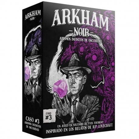 Juego de mesa Arkham Noir 3 Abismos Infinitos De Oscuridad de Ludonova
