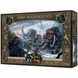 A Song Of Ice And Fire Jdm: War mammoths From CMON Games