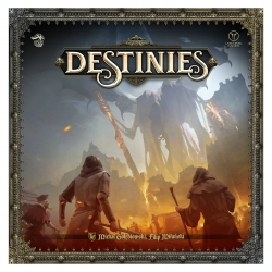 Destinies is a board game that offers an experience that mixes the traditional board game with the latest technologies