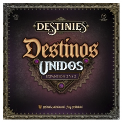 United Destinations expansion for Destinies board game from Last Level Games