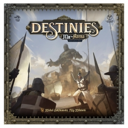 Sand sea expansion for Destinies board game from Last Level Games