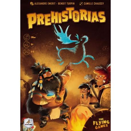 Juego de mesa Prehistorias de Maldito Games