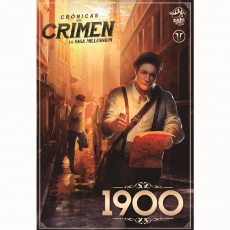 Expansion 1900 of the Chronicles of Crime board game from Luckyduck Games