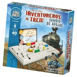 Logiquest board game Adventurers to the Train! by Mixlore